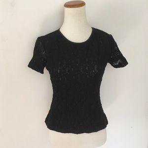 Vintage Lace Grunge Tee Shirt